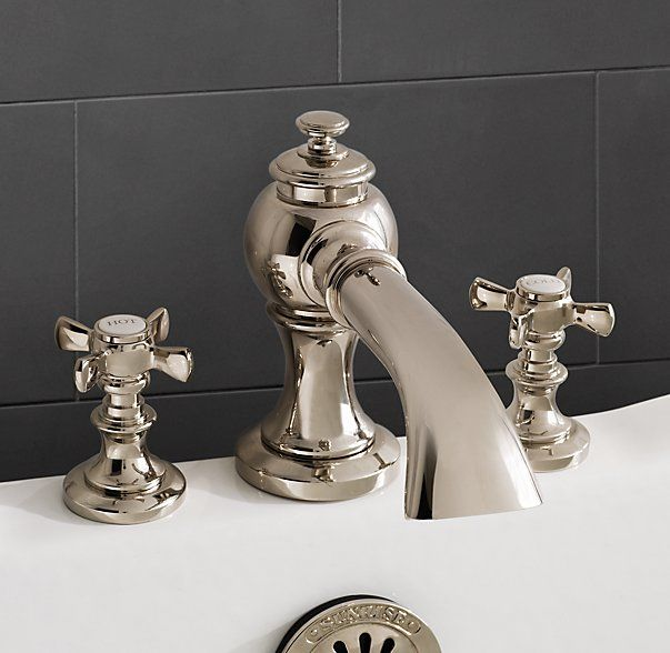 moen oxby roman tub faucet. Lugarno Deckmount Roman Tub Faucet Set  Polished Nickel 621