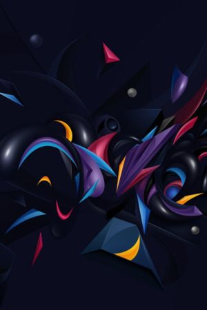 Download Free 3d Colors Chaos Iphone Wallpaper Mobile Wallpaper