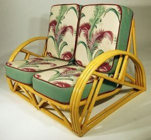 Vintage barkcloth