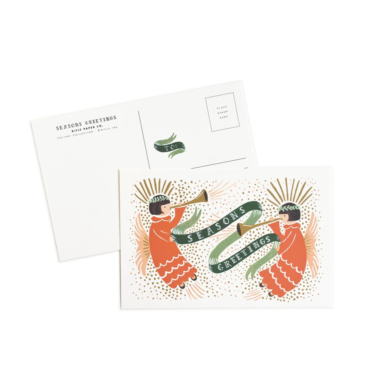 Season's Greetings Package of 10 Cards Seasons greetings