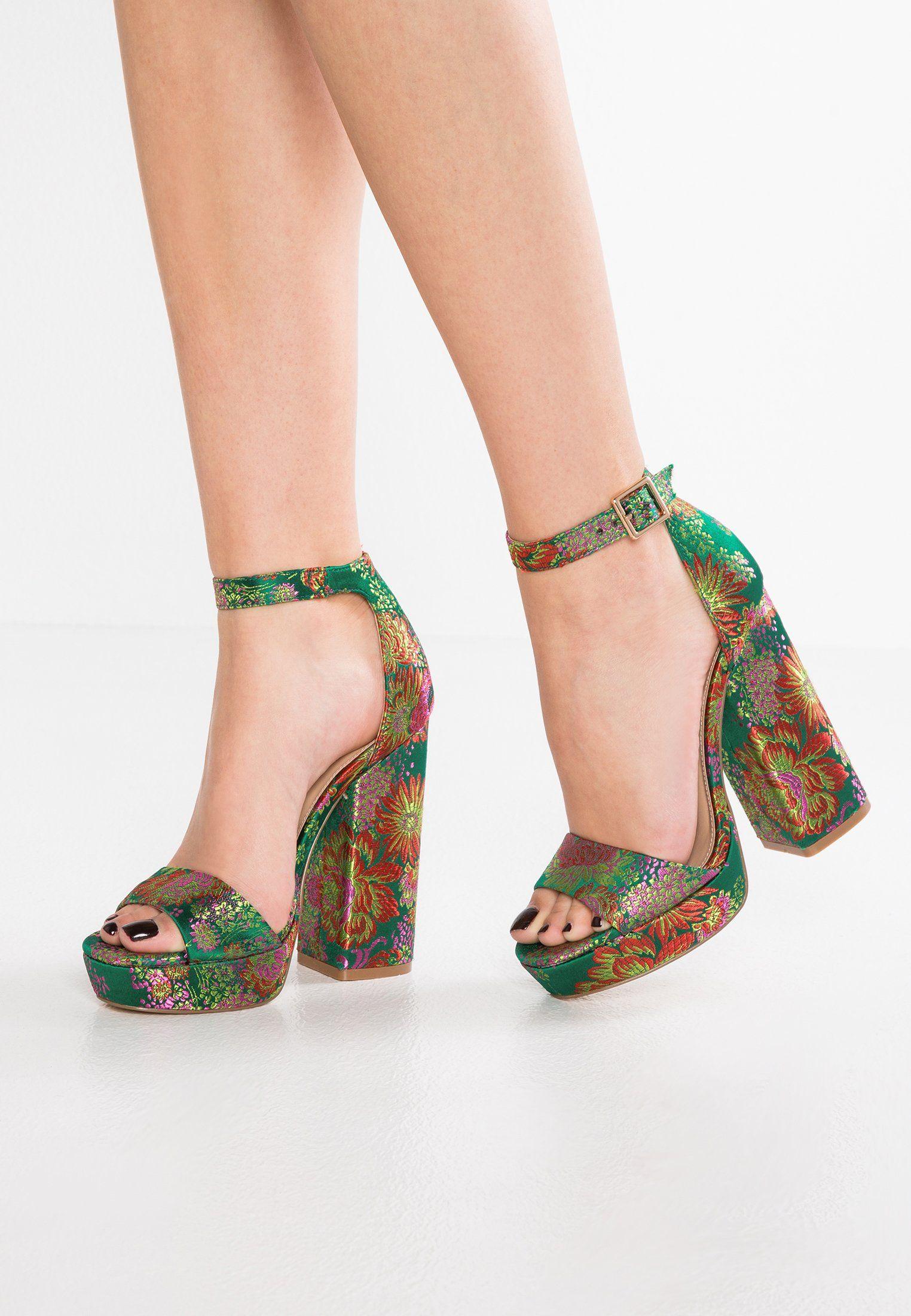 nuova alta qualità vari stili super speciali JASMINE - High heeled sandals - multicolor @ Zalando.co.uk ...