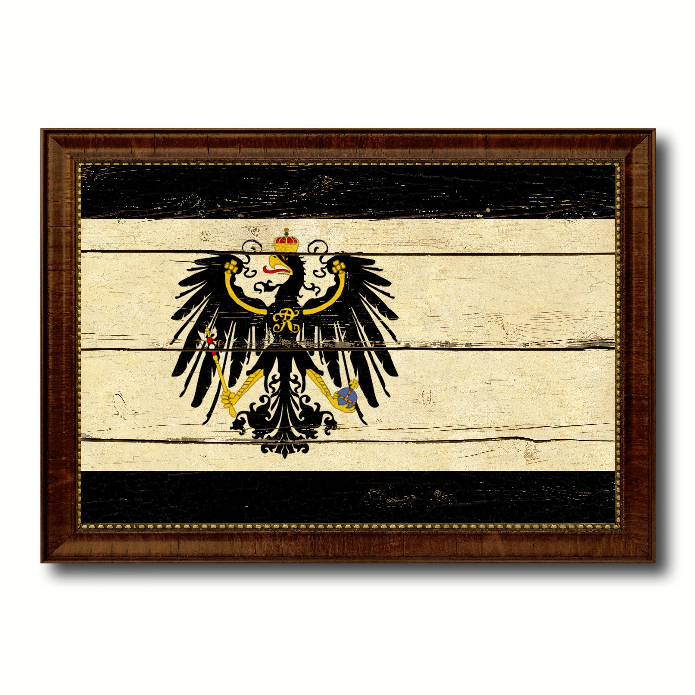 Kingdom of Prussia Germany Historical Military Flag Vintage Canvas ...