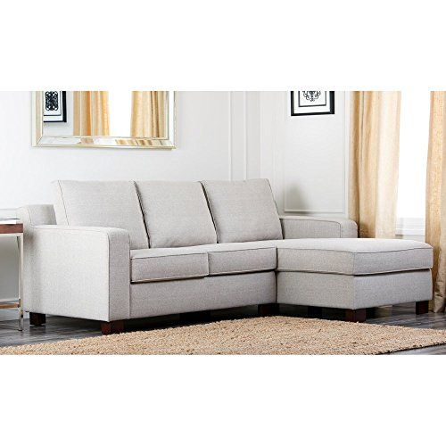 Best Abbyson Regina Sectional Sofa Grey Sectional Sofa 400 x 300