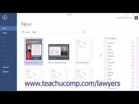 Learn about Using Legal Templates in Microsoft Word for Lawyers at - legal template word
