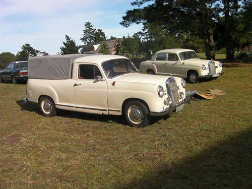 Mb Ponton Pick Up Sedan On Car And Classic Uk