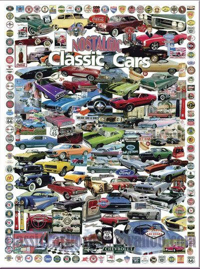 Classic and Muscle Car Collage   classic cars   Pinterest