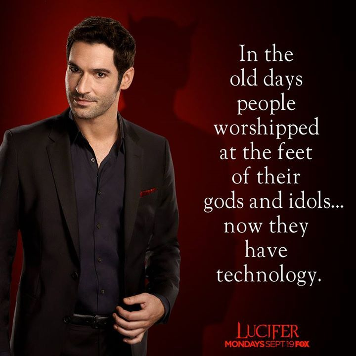 Netflix Saves Fox S Lucifer From Cancellation: People Are Interesting, But Cell Phone Screens Are Way