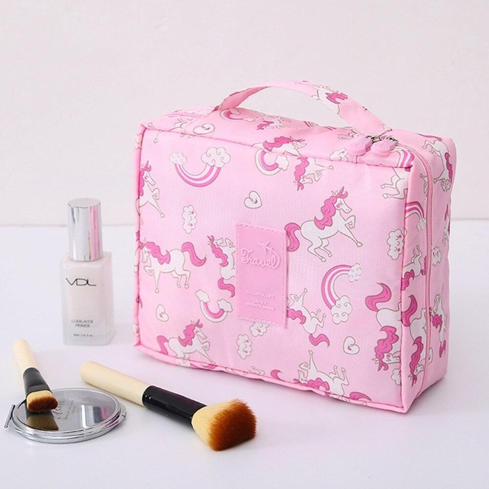 Neue Damen Kosmetiktasche, Multifunktions-Make-up-Tasche, Pflegeset, Beauty-Etui, Toilettenartikel-Organizer, Reise-Make-Up-Taschen, Neceser – 1