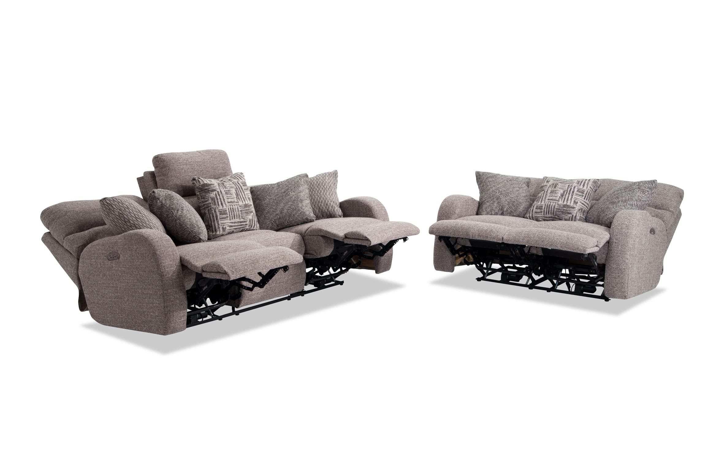 Titanium Power Reclining Sofa & Loveseat  Bobs.com in 5