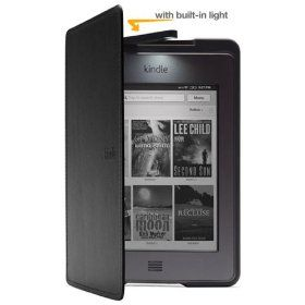 Amazon Kindle Touch Lighted Leather Cover Black Book Light Kindle Touch Covers Covers Mine Amazon Kindle Kindle Kindle Case