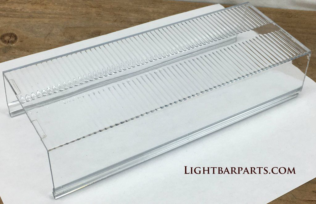 Whelen 8 11 16 Inch Edge 9000 9m Mini Lightbar Clear Lens Section Nice In 2020 Bar Lighting Edges Clear