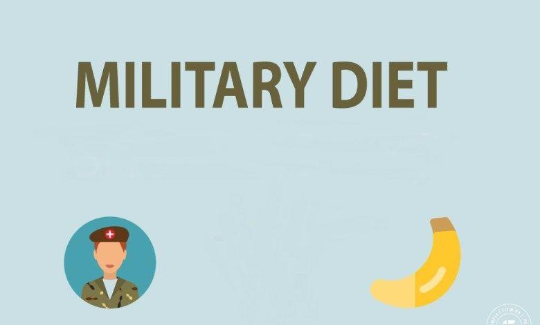 الرجيم العسكري Military Diet Diet Military