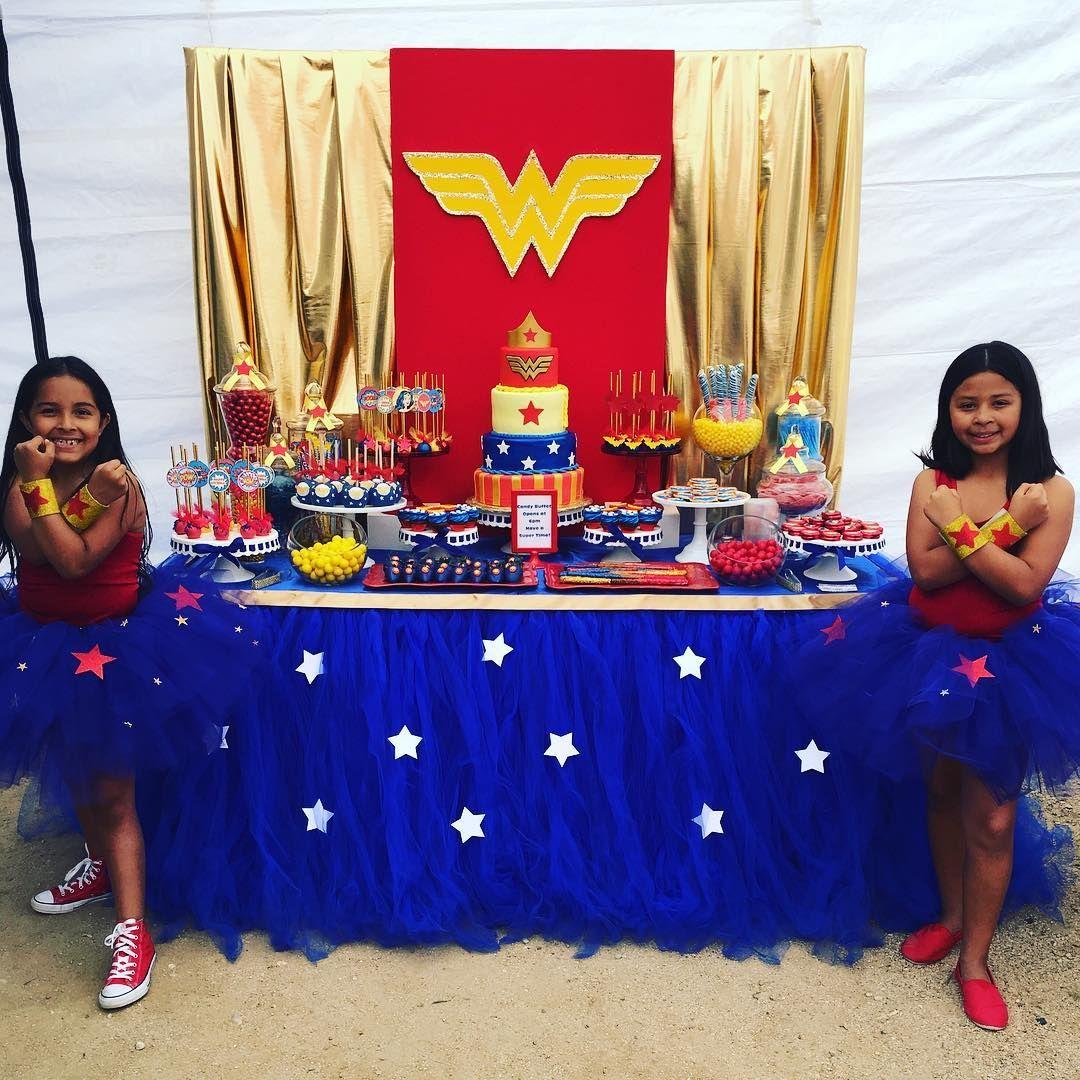 Wonder Woman Party Pinteres