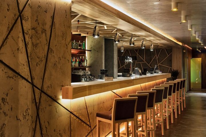 concrete bar restaurant by yunakov studio kiev ukraine restaurant bar