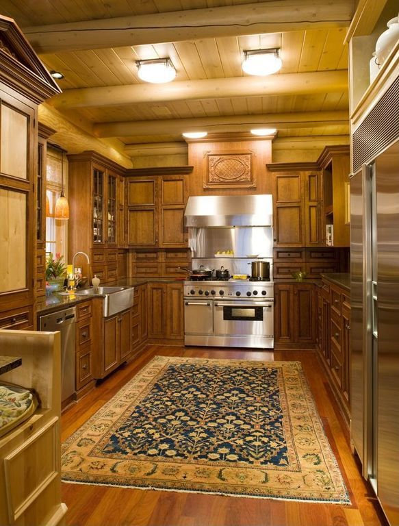 Craftsman Kitchen with 27\
