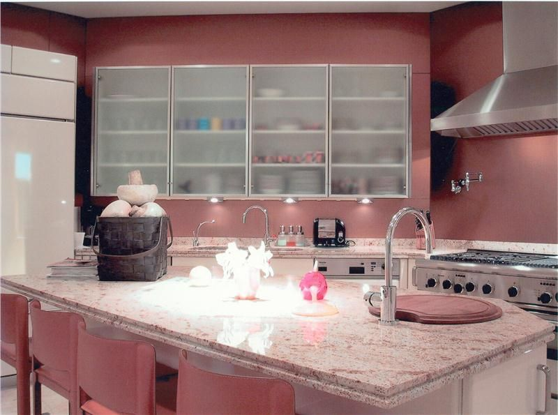 Pink Kitchen By Gail Green Tasteful Decor Who Wouldn T Want To Cook Up A Treat In This Blushing Create Your Own Recipe For Success Pairing