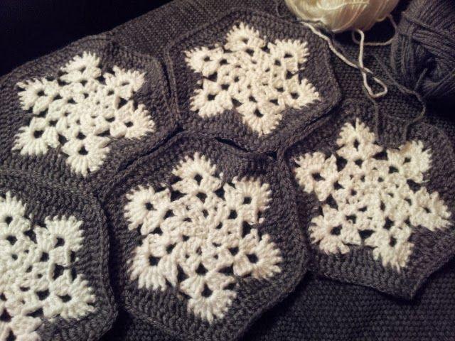 PummelchenKreativ | HÄKELN: Grannys, Decken, Kissenhüllen ...