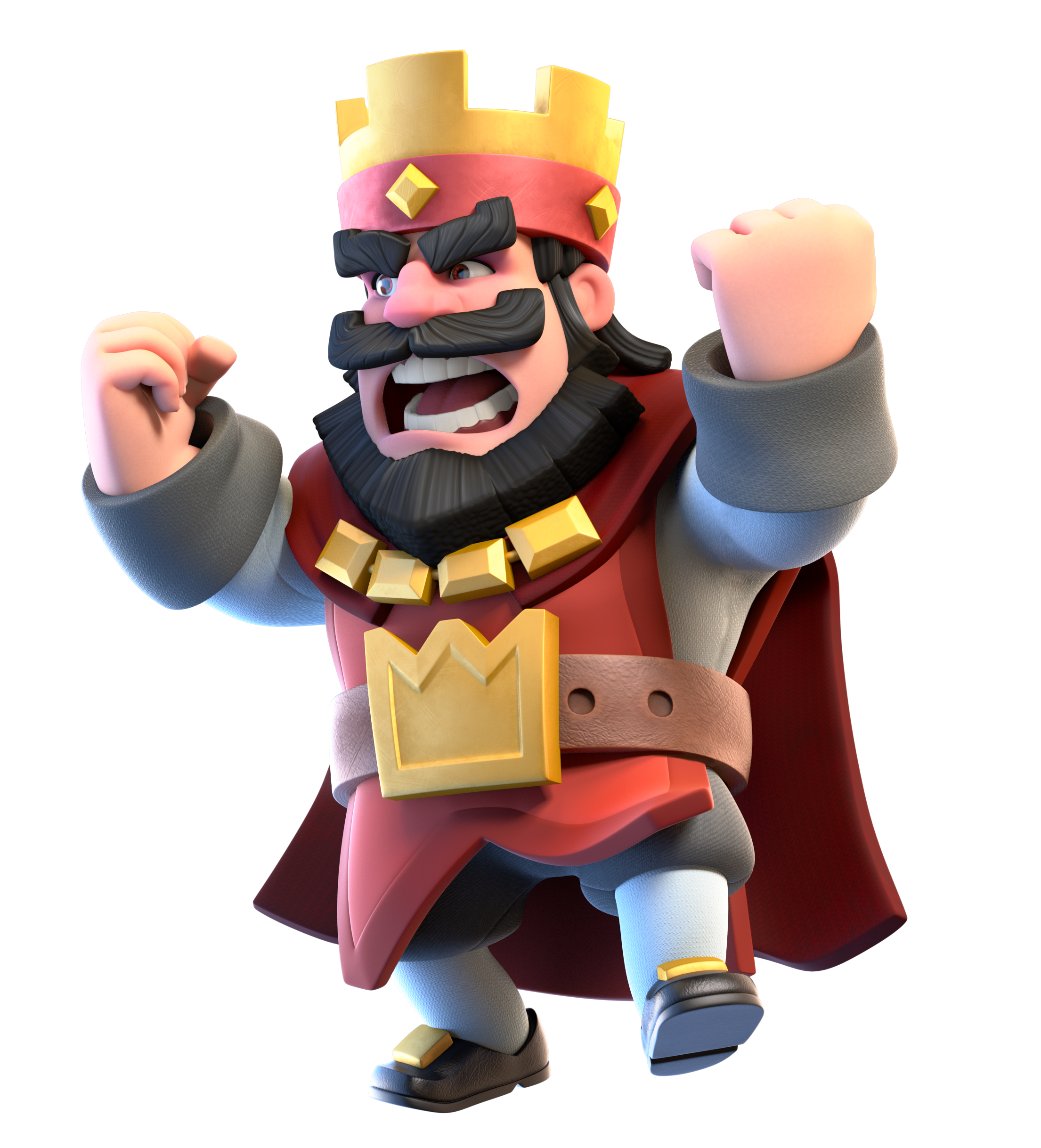 Red King Angry Png 2210 2437 Clash Royale Deck Clash Royale Party Clash Royale Personajes