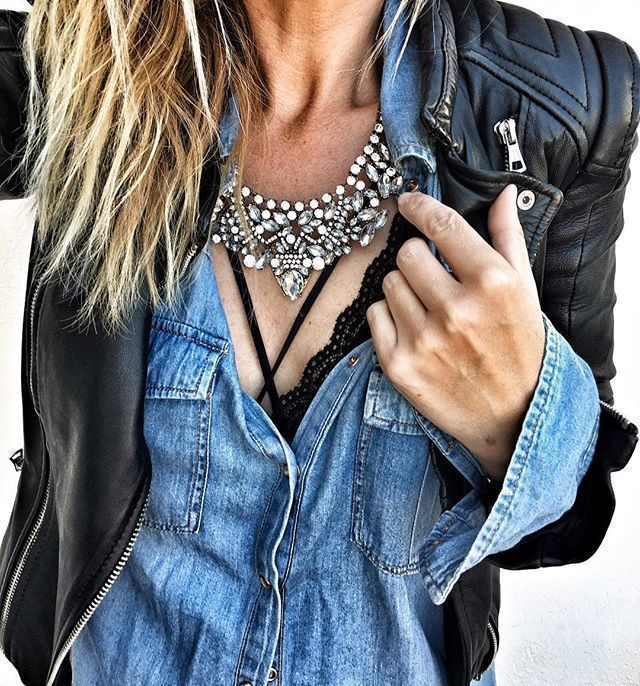 Photo of Vintage Glamour Statement Necklace – Happiness Boutique