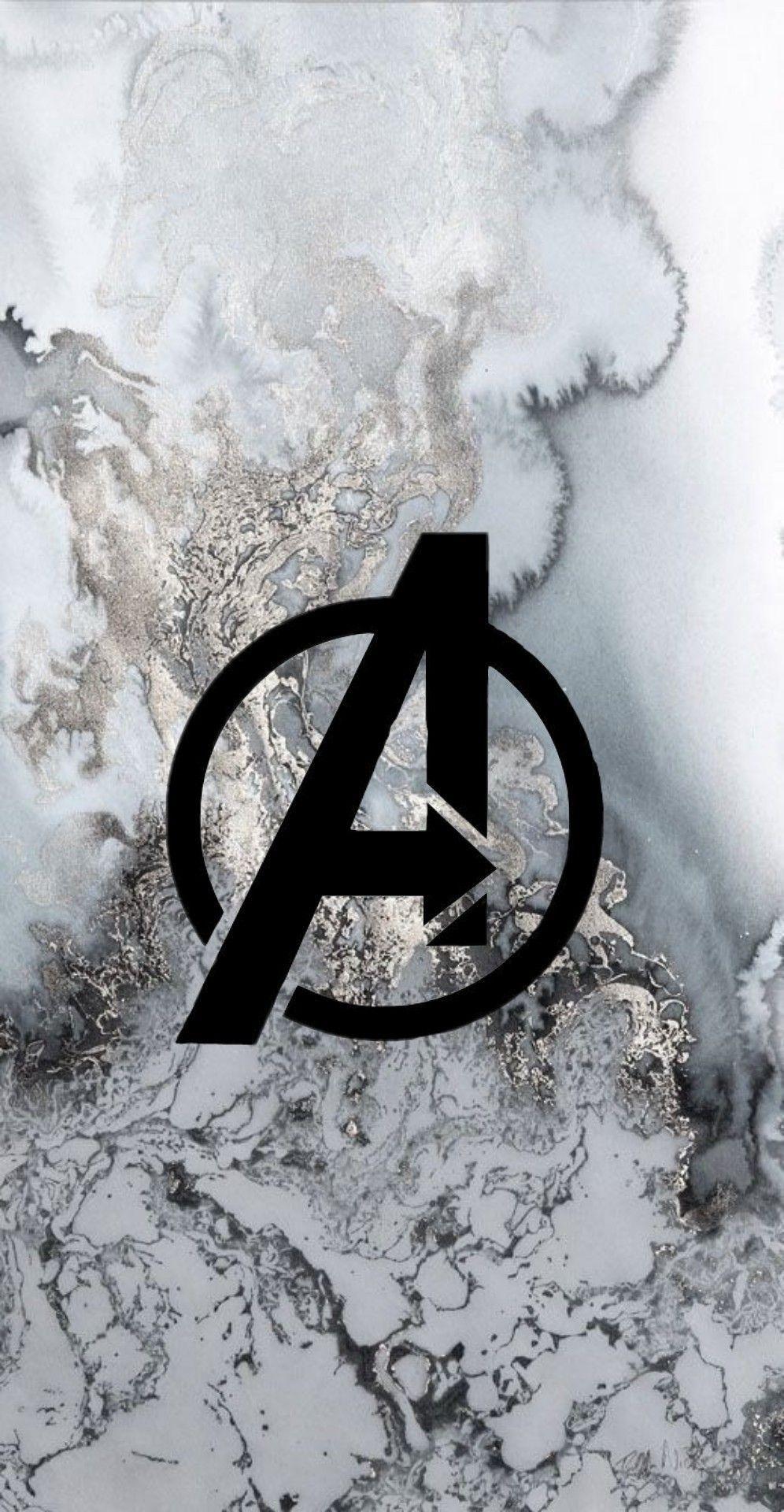 Avengers Wallpaper Logo Avengers Wallpaper Marvel Wallpaper Marvel Background Marvel Iphone Wallpaper