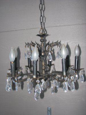 The magic brush inc diy chandelier makeover craft ideas pinterest the magic brush inc diy chandelier makeover aloadofball Choice Image
