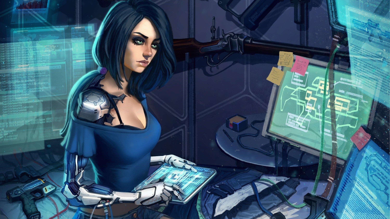 3000x1687 desktop wallpaper for cyborg