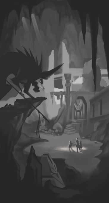 More old concept art inspired by Bone