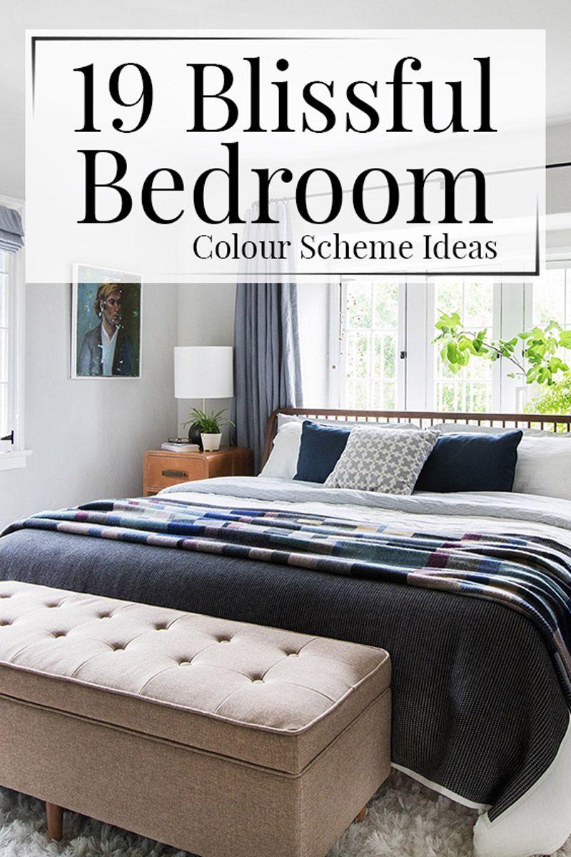 19 blissful bedroom colour scheme ideas - Bedroom Colour Schemes