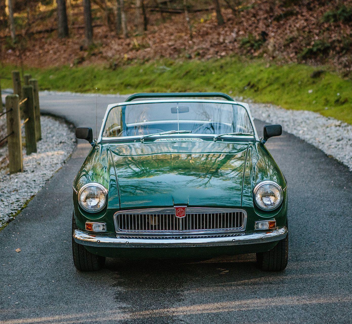 1965 MGB Convertible British Racing Green | MGB | Pinterest ...