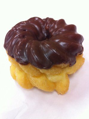 French Cruller The Best My Favorite Donut Homemade Donuts Tasty Dishes Baked Donut Recipes