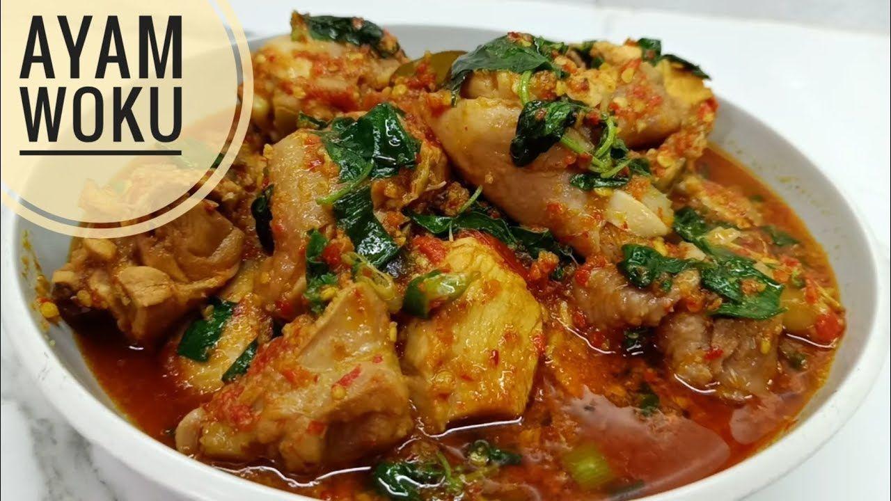 Resep Ayam Woku Pedesnya Mantap Youtube Resep Ayam Resep Resep Masakan Indonesia