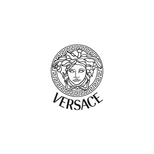 ef56ac32338d Versace Logo Design and History ❤ liked on Polyvore featuring logos ...