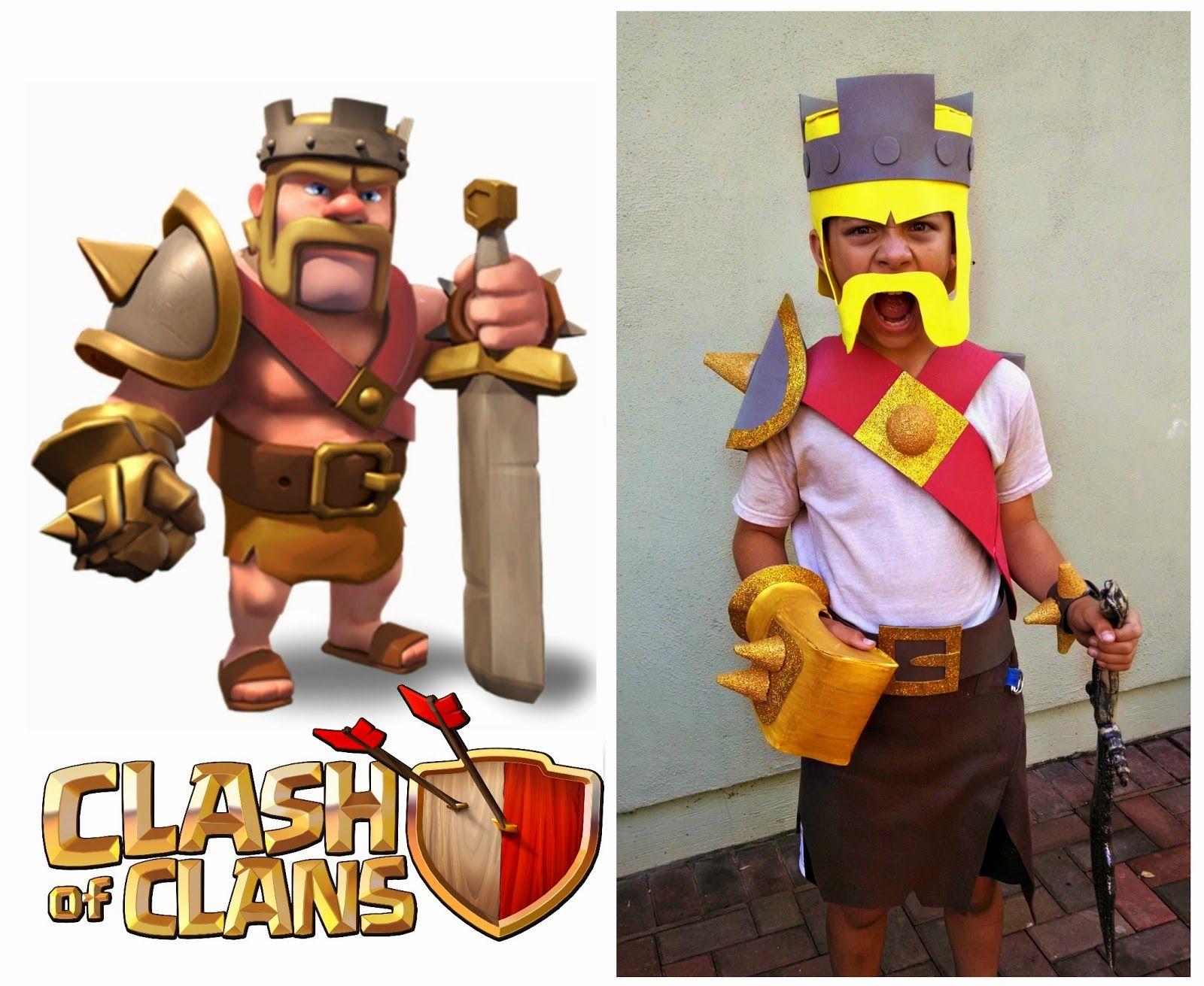 Clash of Clans Wizard Costume | Halloween Costumes | Pinterest ...