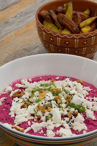 NAMI-NAMI: a food blog: Beetroot borani recipe (borani chogondar)