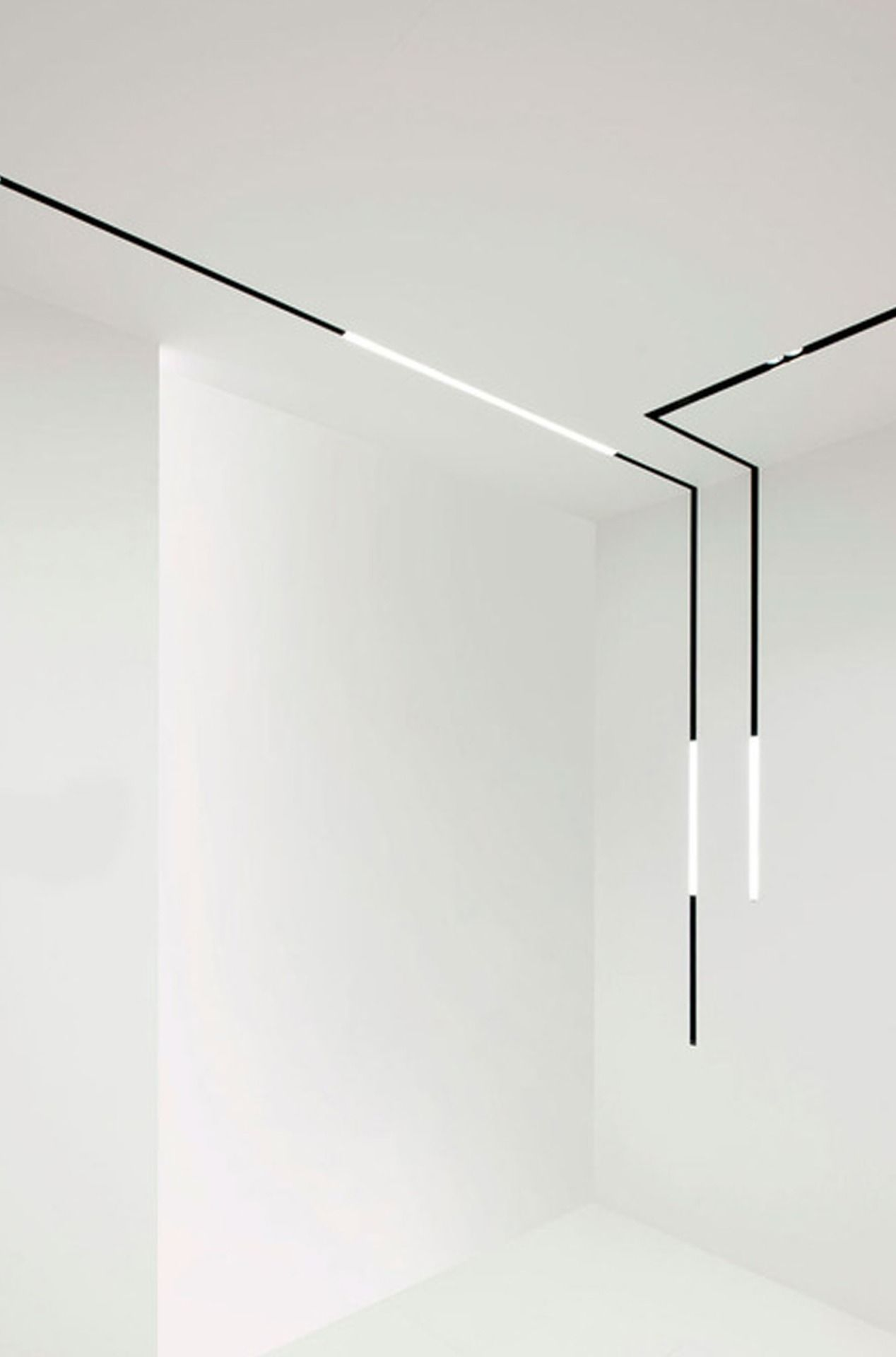 splitline  architectural tracklight system by delta light  - splitline  architectural tracklight system by delta light