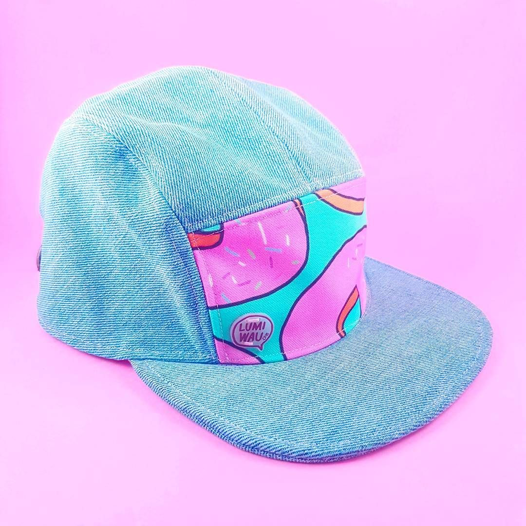 818b0188cd363 Will Work For Donuts - 5 panel cap
