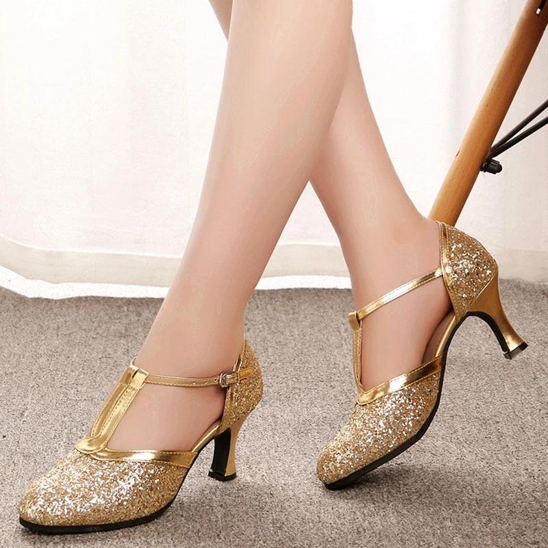 48+ Womens gold dress shoe ideas