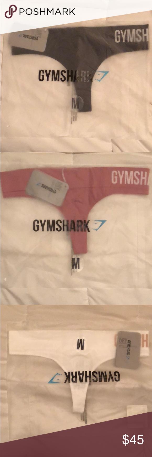e4a031dc2b2 Gymshark Seamless Thong Medium (Black