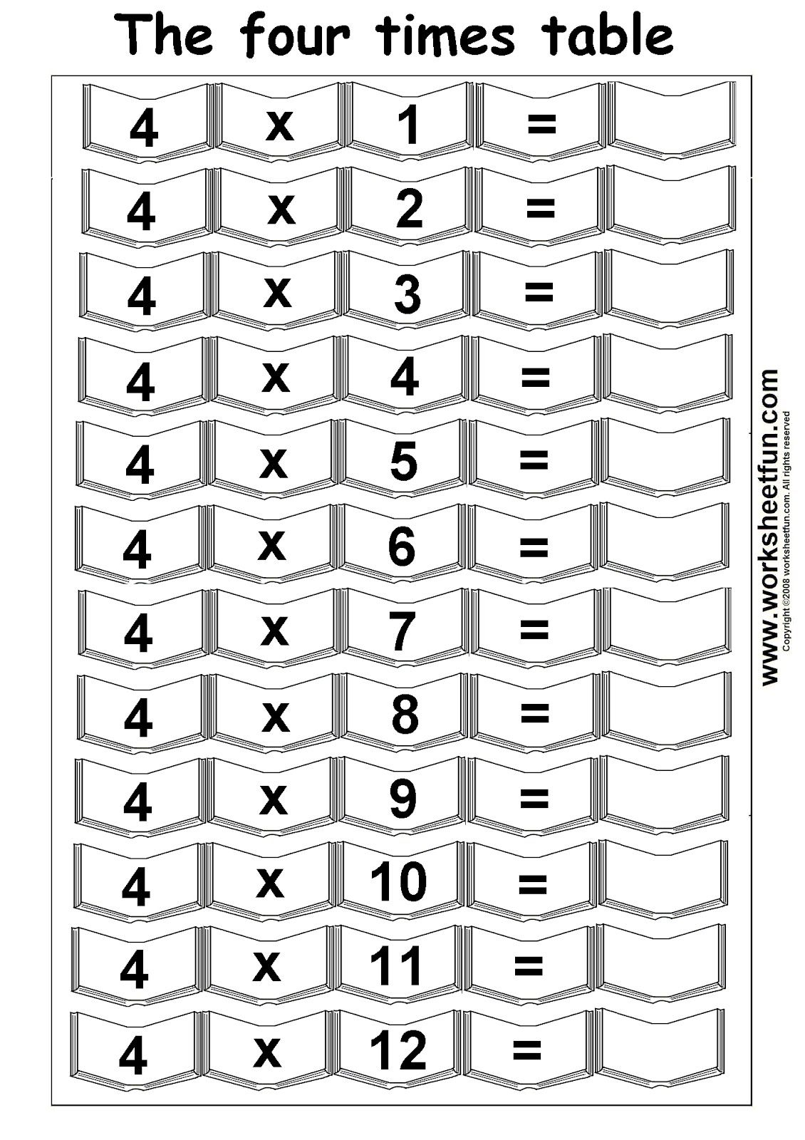 Teach Child How To Read Printable Math Times Table Worksheets
