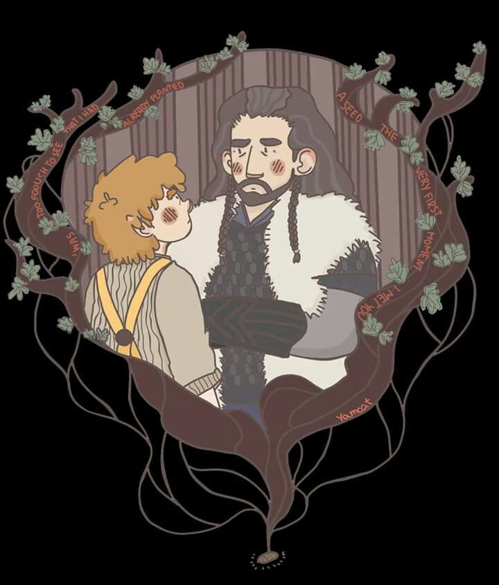 Bilbo and Thorin