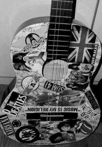Pin By Maria Laura On Guitar Music Art Guitar Art Guitar Guitar Stickers