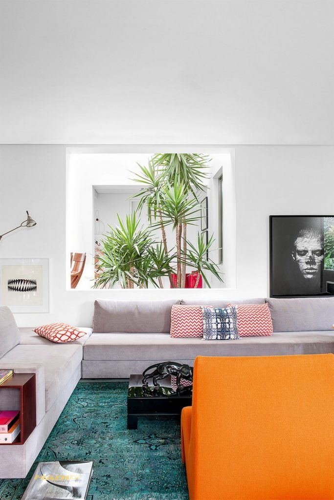 Colorful  house refreshed by top interior designer guilherme torres projects and interiors world also rh pinterest