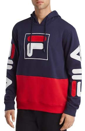 Fila Tony Color Blocked Logo Pullover Hoodie | Products
