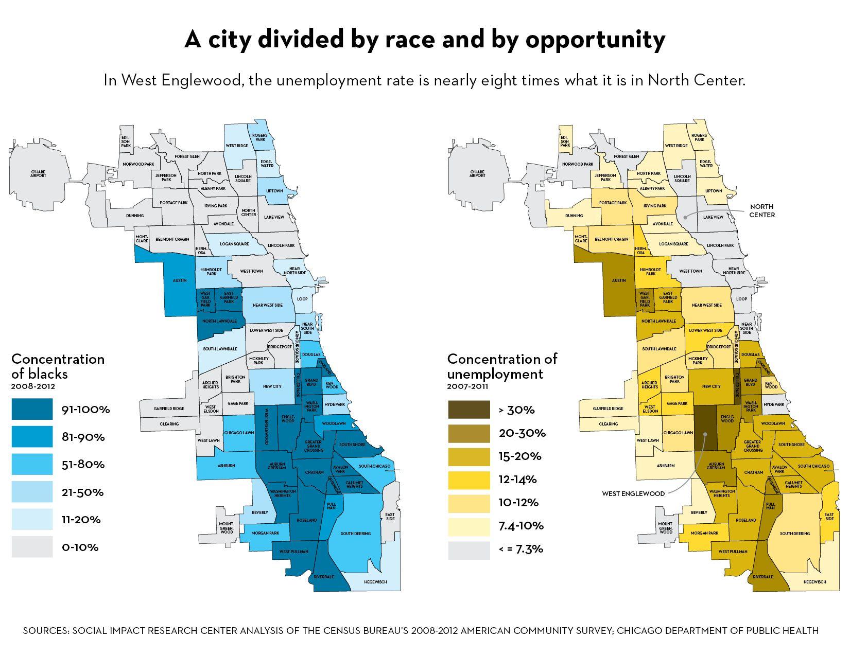 Chicago Segregation Map Chicago community areas map segregation   Google Search | Chicago