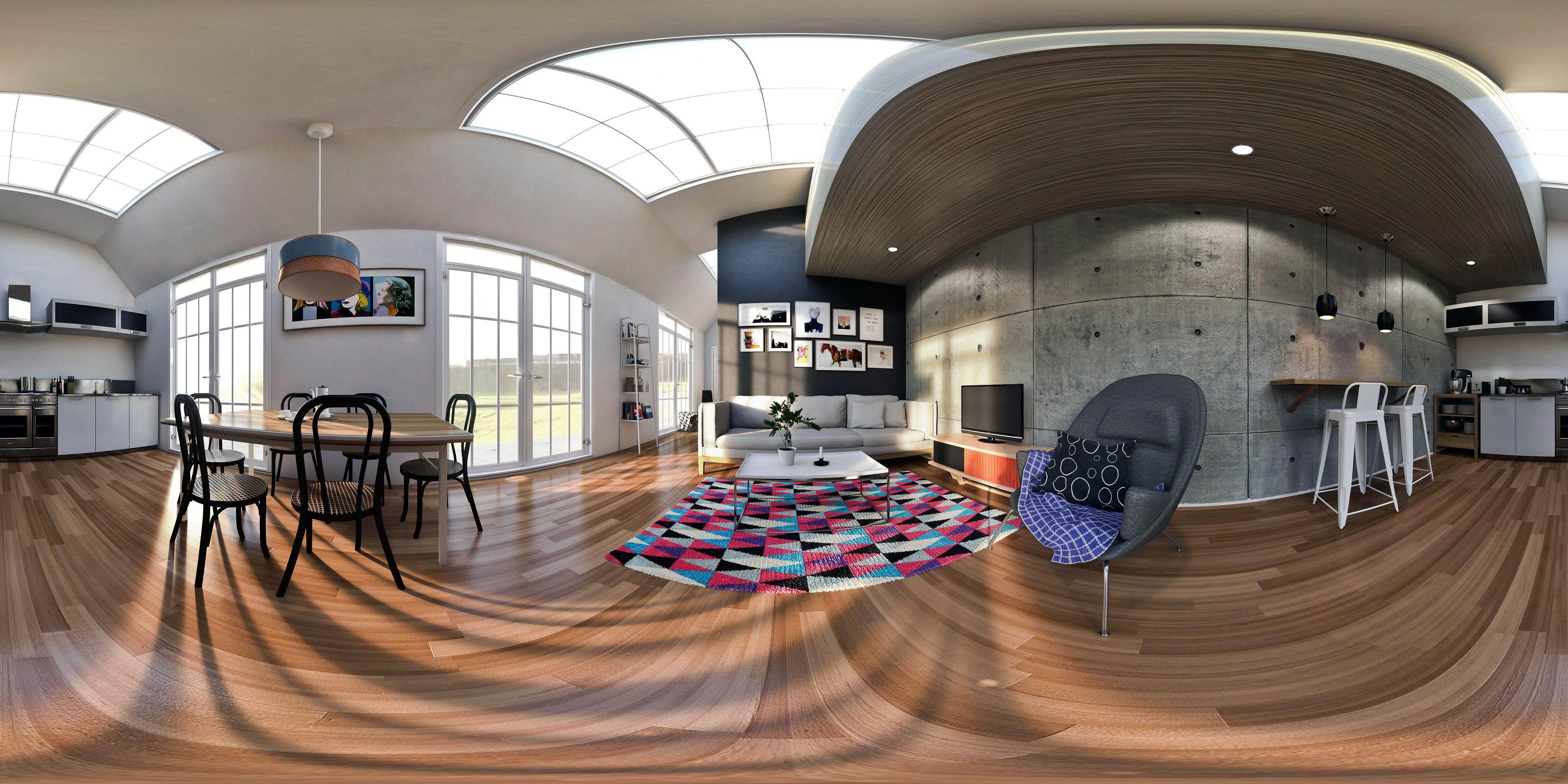 Maya D Living Room