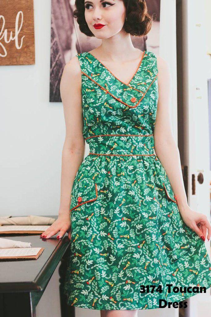 ade9a3785406 Enchanted Tiki Toucan Dress   Planning...: Disney   Dresses, Fashion ...