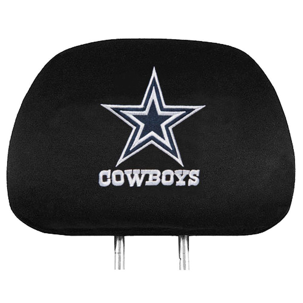 Dallas Cowboys Team Logo Headrest Covers