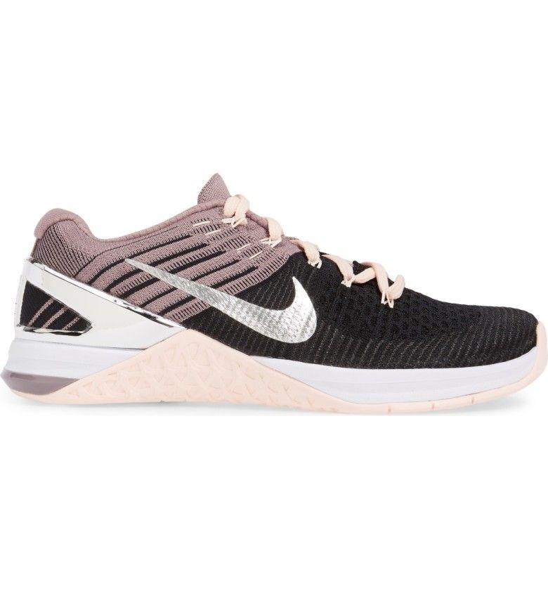 44e786a4e9 Main Image - Nike Metcon DSX Flyknit Chrome Blush Training Shoe (Women)