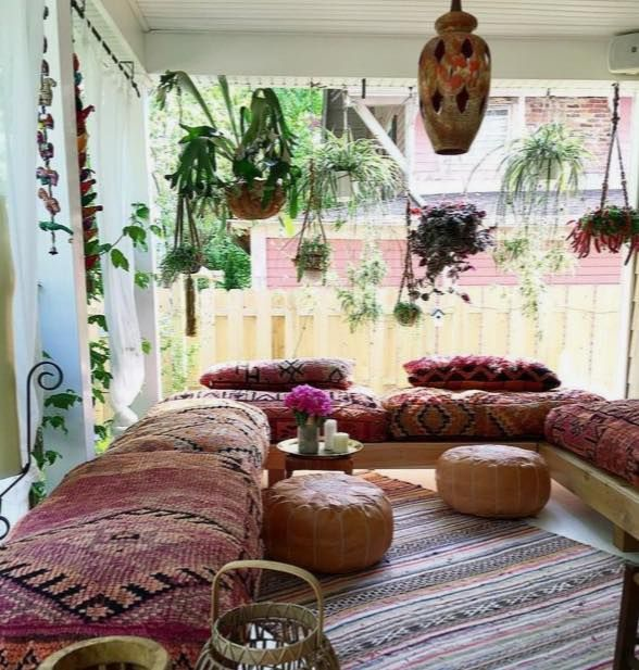 Sunroom · Hippie Living RoomLiving ...