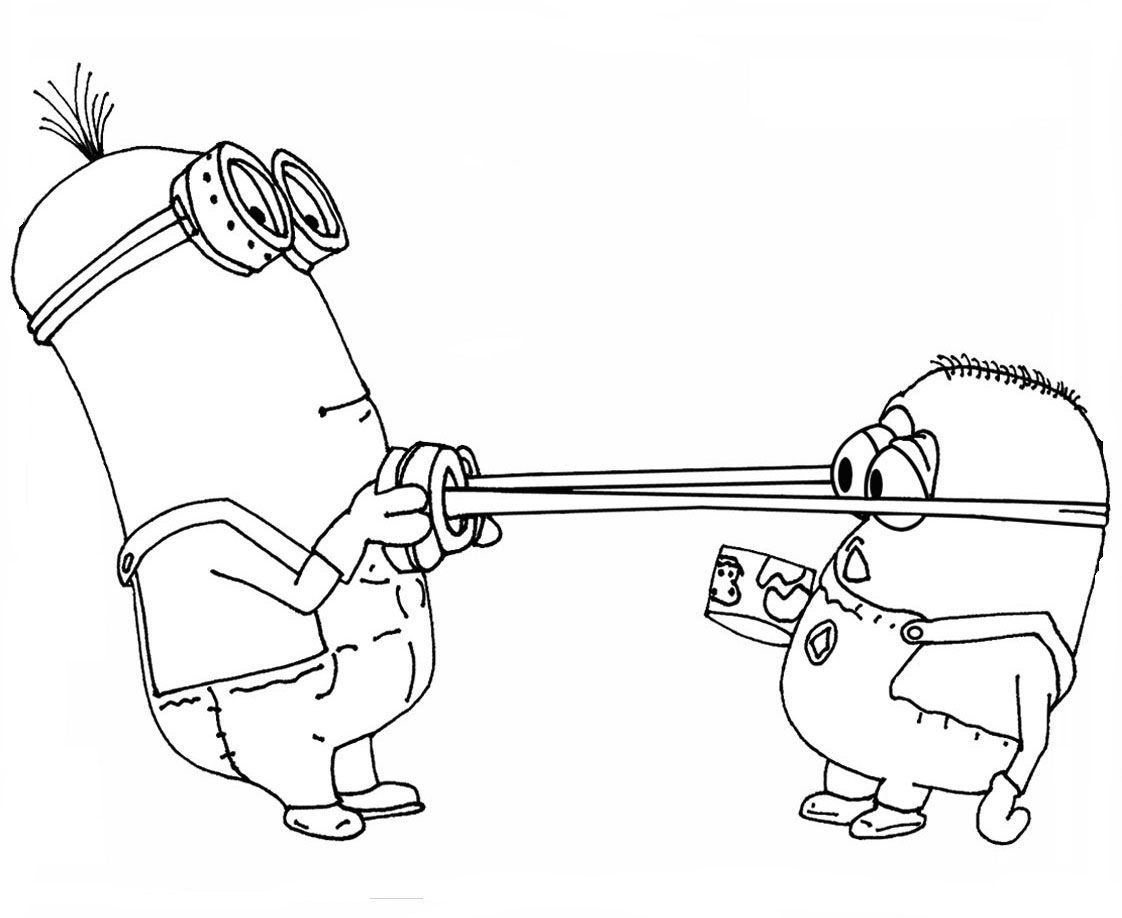 Kids Under 7: Despicable me Coloring pages | Coloring Pages ...